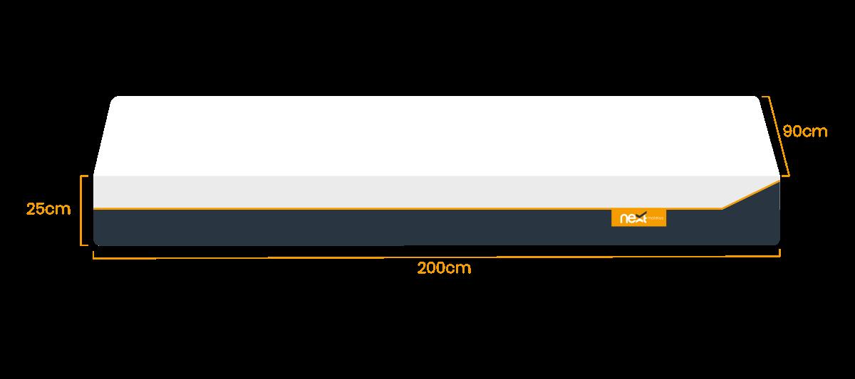 Simple 90x200